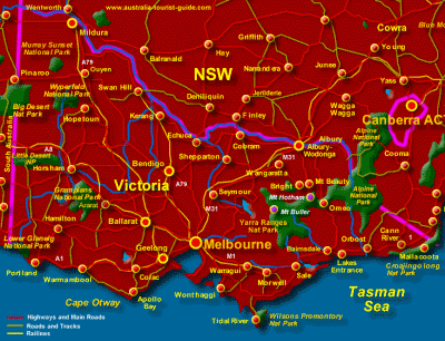 National Parks of Victoria
