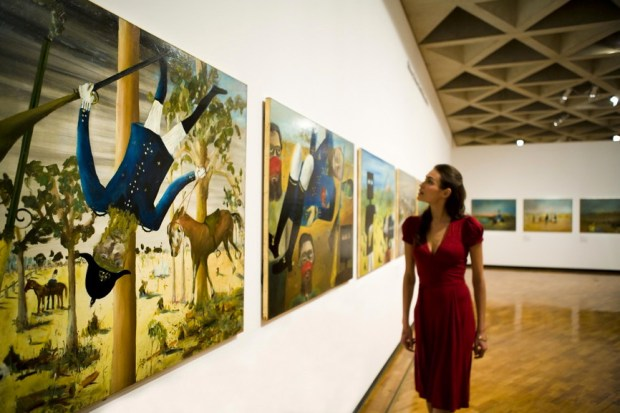 Ned Kelly and other Australian Icons and Art are featured at the Gallery