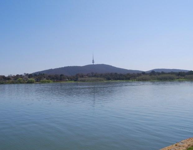 Telstra Tower atop Black Mountain