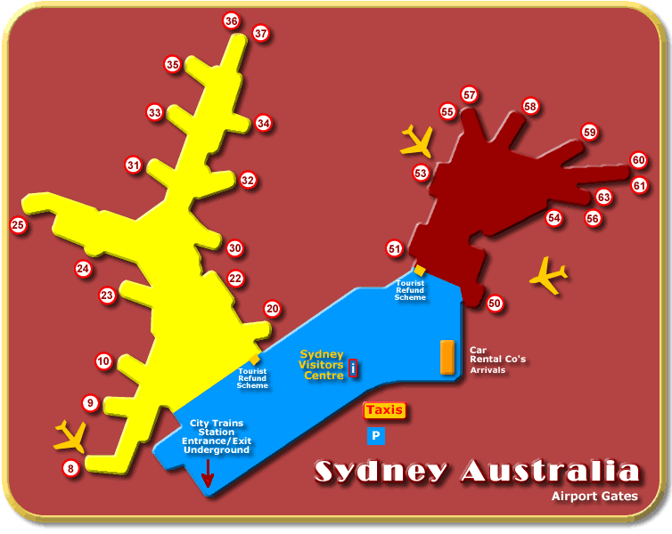 Sydney Australia Airport - Tourist Information on australia continent map countries, australia oil fields map, australia golf map, australia outback map location, australia highways map, australia information and history, university of queensland australia map, south australia map, australia important landmarks map, australia infrastructure map, australia country map, australia people, australia railroads map, australia weather map radar, australia city map, australia border map, australia transportation map, australia religion map, australia cricket grounds map, australia stations map,