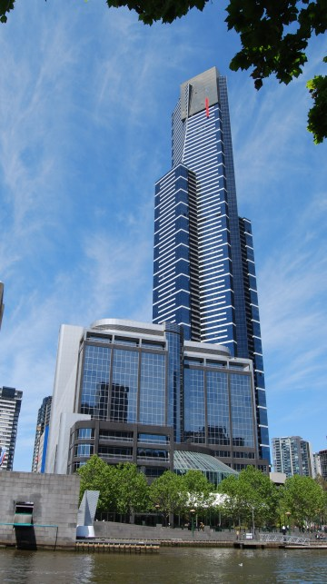 Melbourne Observation Deck is at the Top