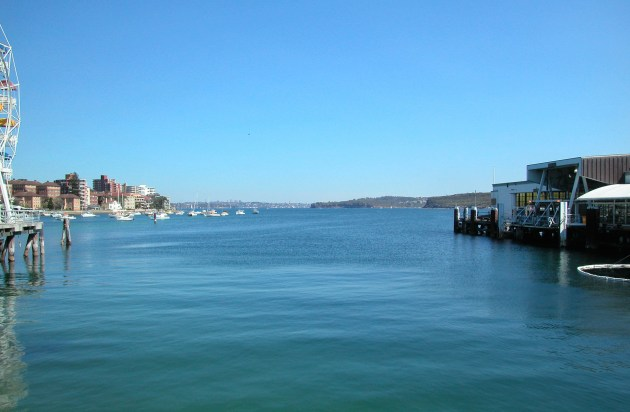 View of Sydney Harbour, from Manly on the Northern Beaches