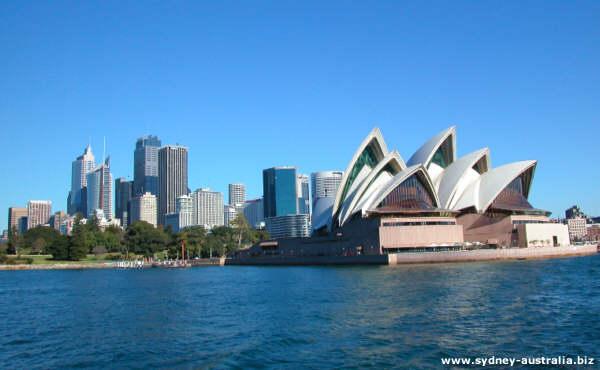 Sydney CBD with City Map