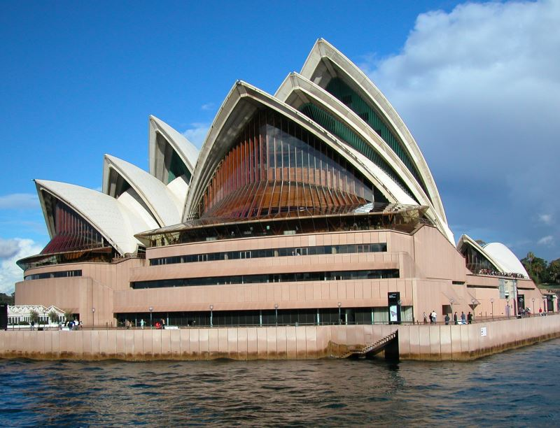 Sydney Opera House on Bennelong Point, Sydney Cove