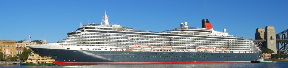 Queen Victoria Berthed in Sydney Australia. Photo: S. Oost