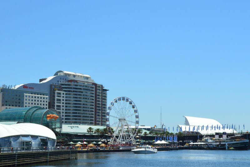Darling Harbour in Sydney has many Places to Eat and Drink