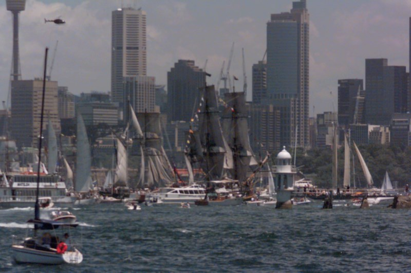 Every year the Sydney to Hobart Yacht Race sees boats of all kinds on Sydney Harbour