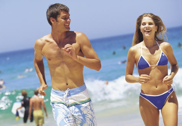 Beach locations, try Bondi, Coogee, Manly or the Cronulla Beaches.