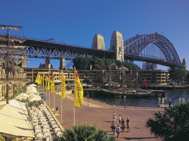You can find Fine Dining and great Places to Eat at The Rocks in Sydney