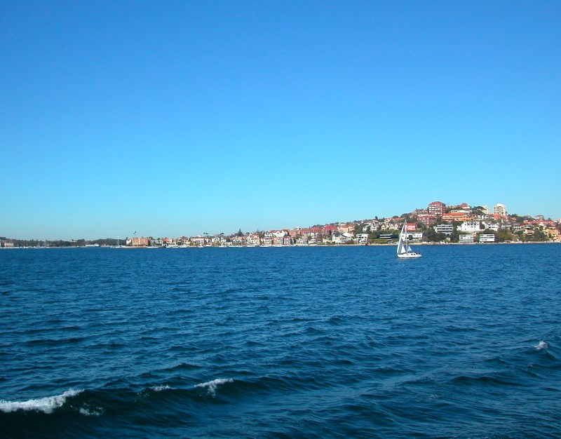 Double Bay, Point Piper and Darling Point.