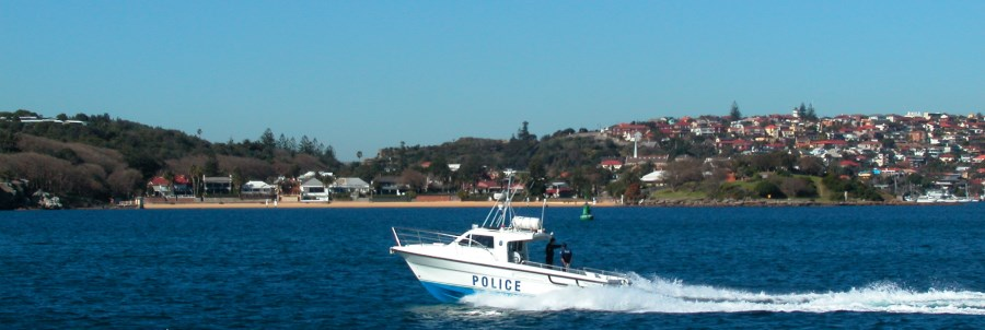 Beach at Watsons Bay as seen from Sydney Harbour