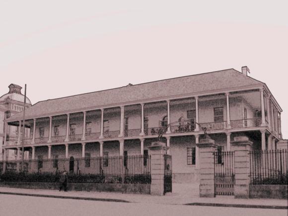 The original Sydney Rum Hospital.