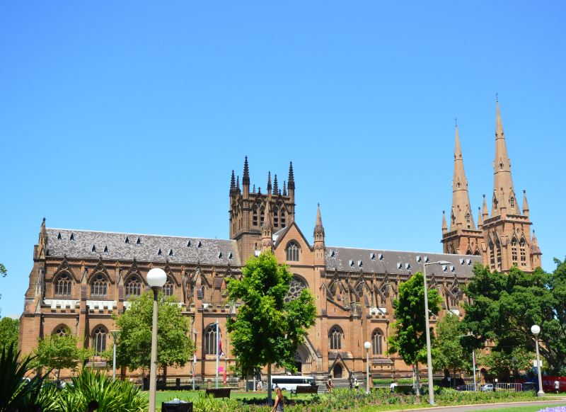 St Mary's Cathedral, Sydney Australia