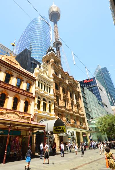 Sydney Shopping: Pitt Street Mall