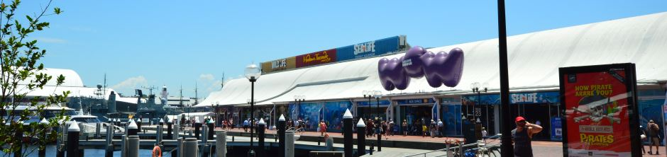 Darling Harbour, next to the city, has excellent Attractions for Kids