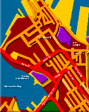 Map of Darling Harbour and City Click to Zoom