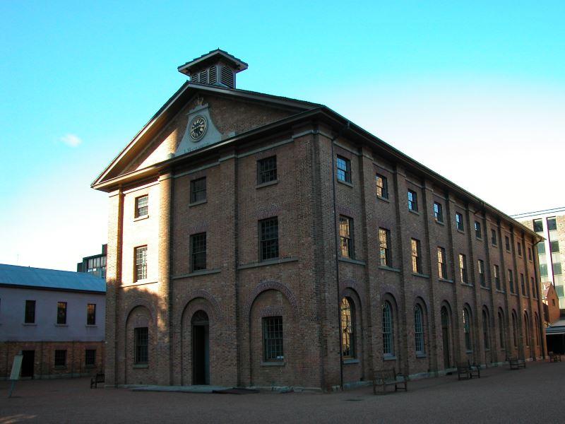 The Barracks located at Queens Square, Macquarie St. Sydney Australia Museum