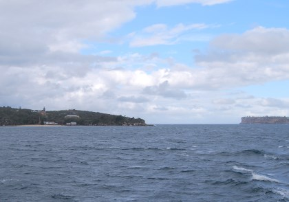 North and South Heads of Sydney Harbour