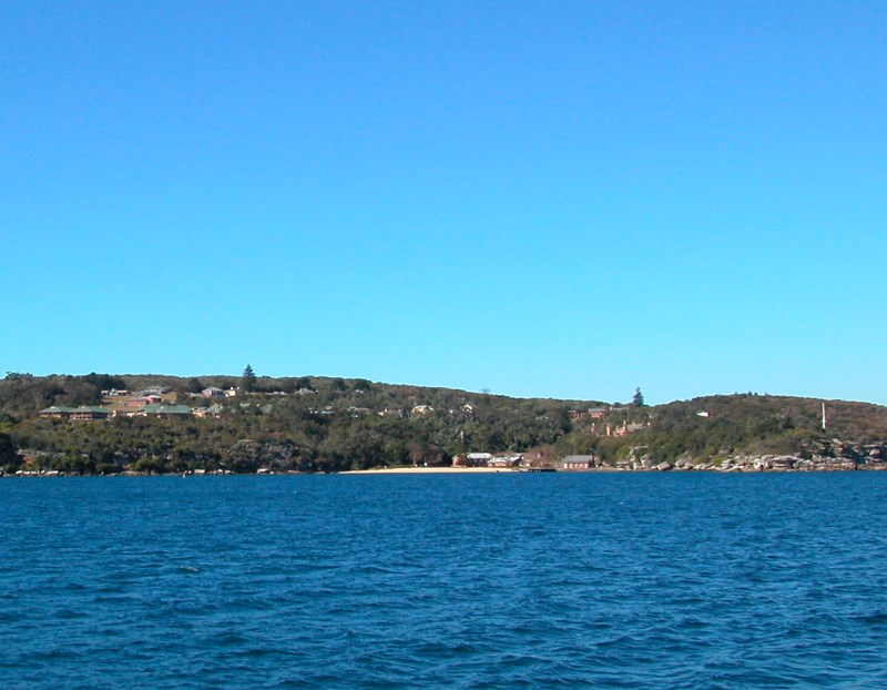 The historical Quarantine Station and the harbourside Quarantine Beach