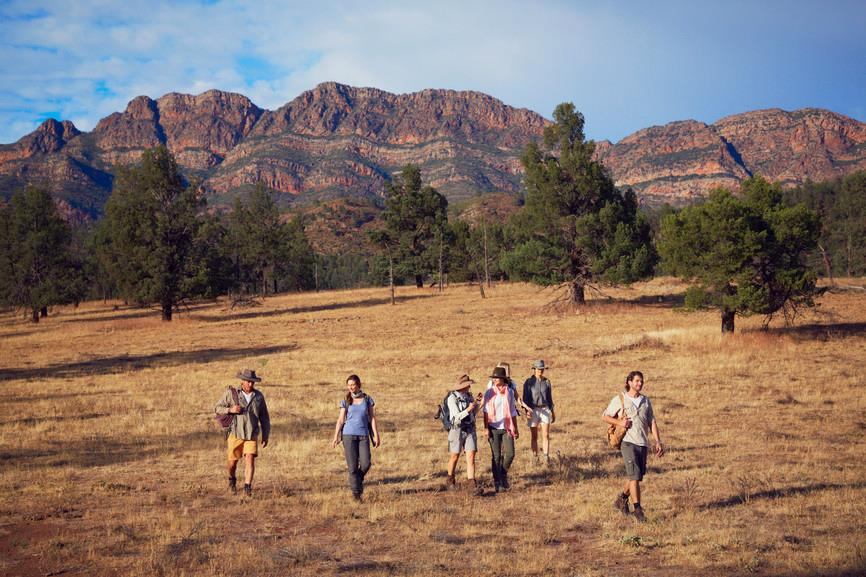 On the Arkaba Walk, Ruger's Hill, Flinders Ranges National Park, South Australia. Photographer: Hugh Stewart