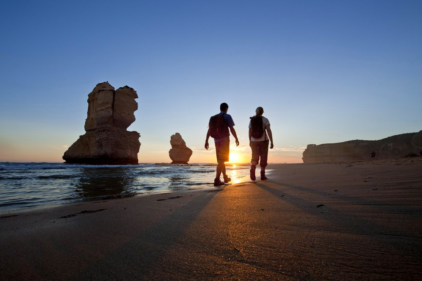 The Twelve Apostles in the Port Campbell NP. Great Ocean Walk - Hero shoot. Photographer: Mark Watson
