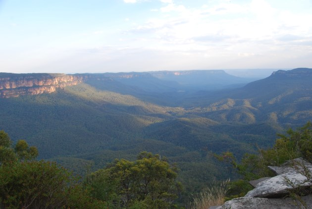 Australian World Heritage Site: Greater Blue Mountains Area