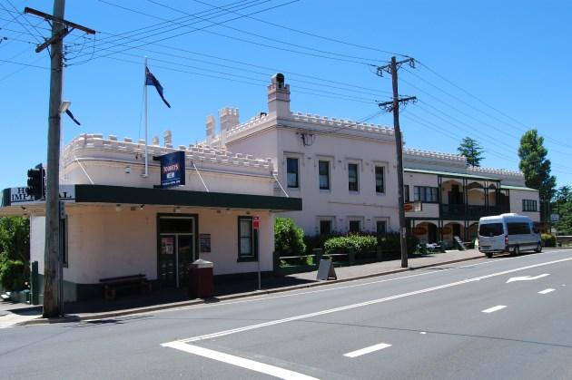 Imperial Hotel in Mt Victoria NSW, open since circa 1878.