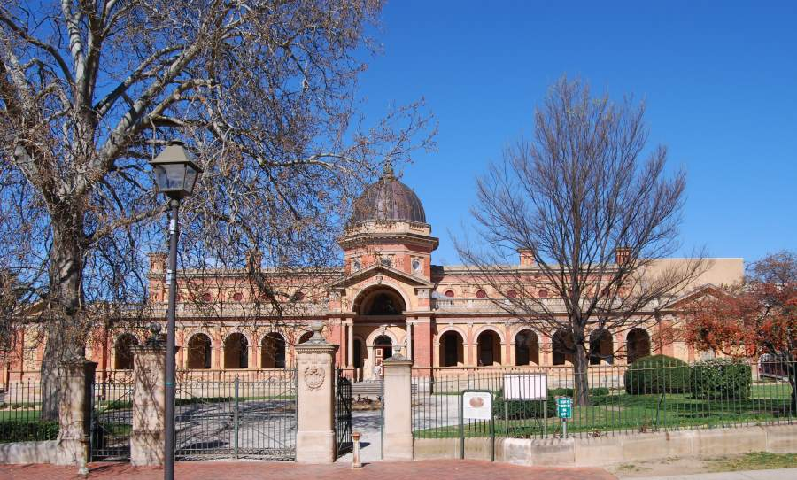 The Victorian Italianate style Courthouse in Goulburn NSW, Capital Country