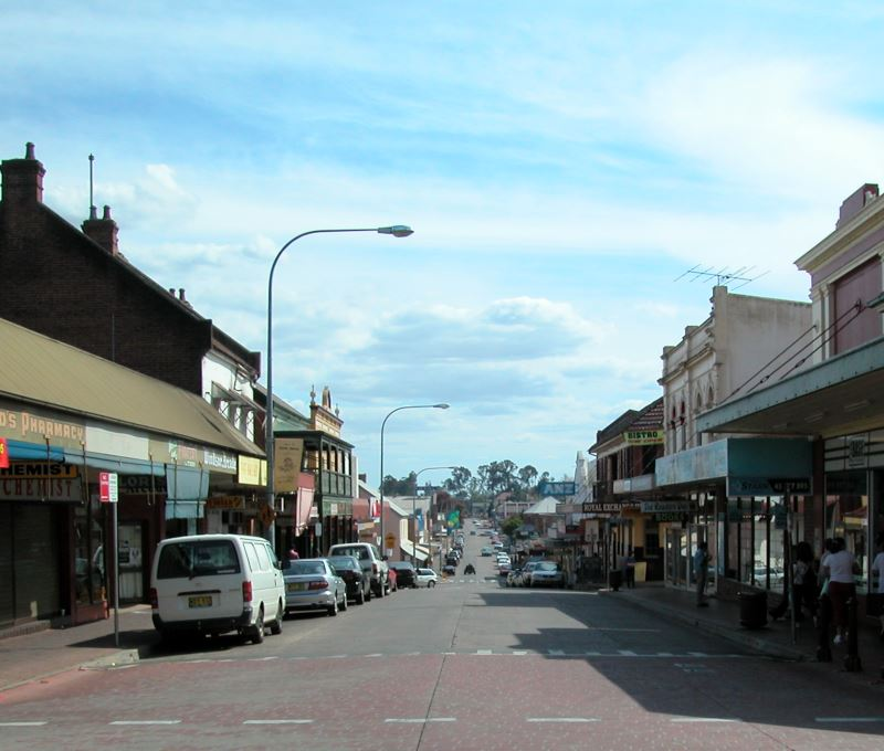 Historic Windsor in NSW