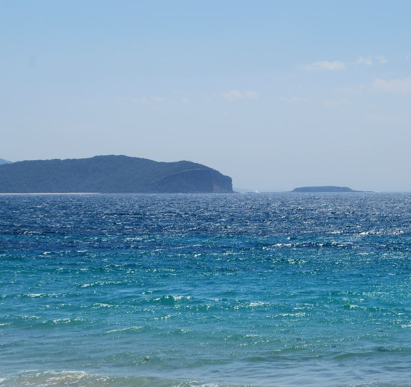 A small view of the waters of Batemans Marine Park, NSW
