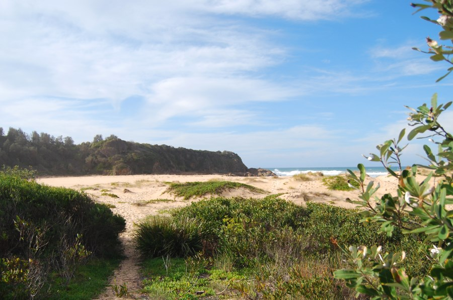 Sapphire Coast: Cuttagee Beach, south of Bermagui