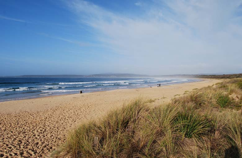 Merimbula Beach - located on the Sapphire Coast part of the NSW far South Coast.