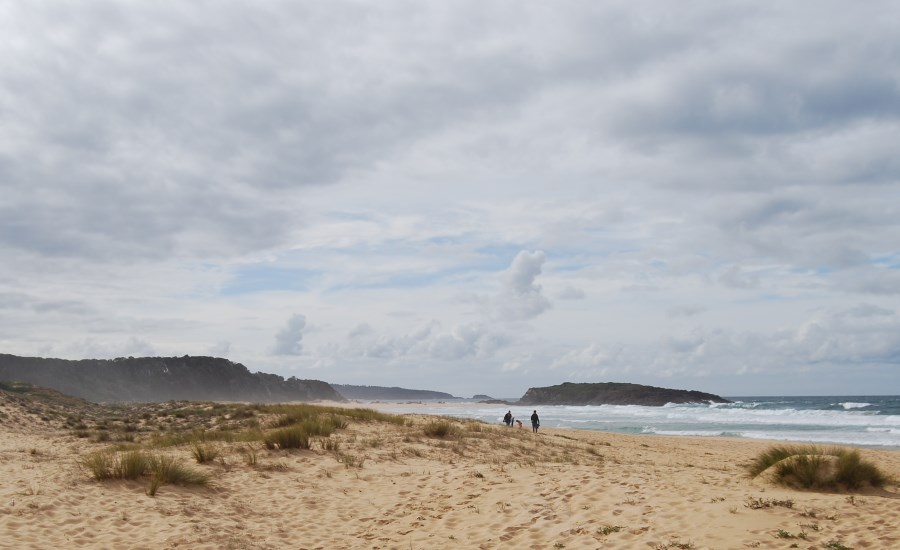 Starting at North Tura Beach on the Sapphire Coast to Tathra.