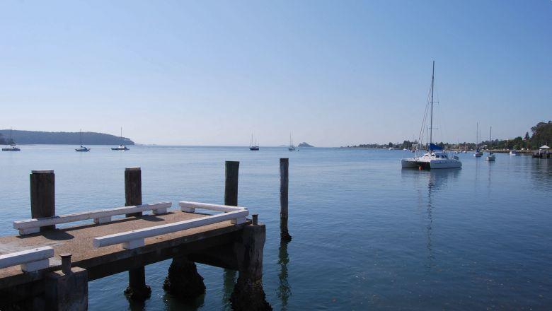 Boats at the Port of Batemans Bay, NSW.