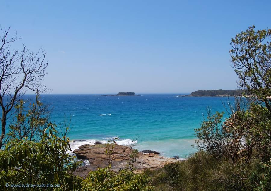 Wasp Island at Murramarang, South Coast NSW.