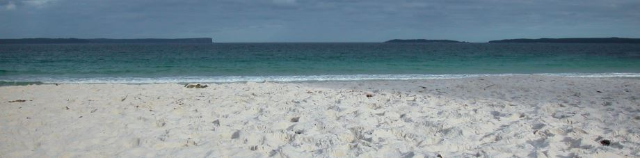 Sparkling White Sands of Jervis Bay