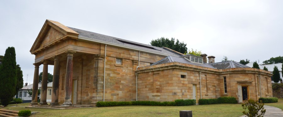The Historic Berrima Courthouse, location of the Berrima Courthouse Museum