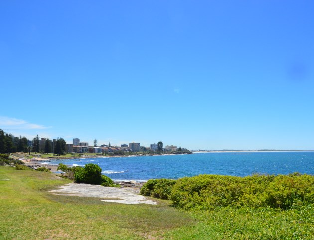 The Cronulla Beaches stretch northwards along the Coast