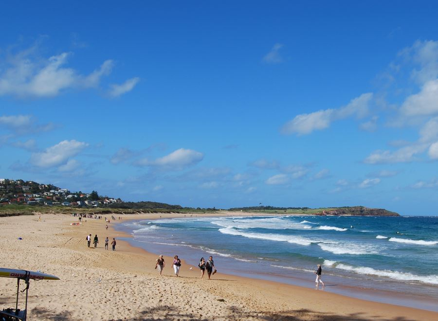 Dee Why Beach stretches all the way to Long Reef Beach in the North