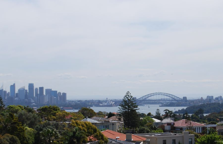 Sydney Harbour as seen from South Head