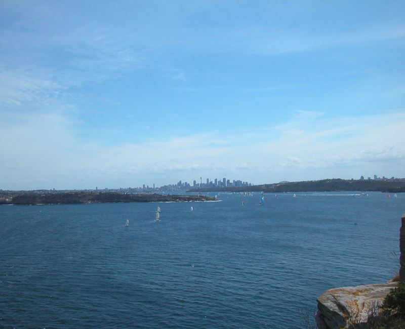 Spectacular Views from North Head, Sailing on the Harbour