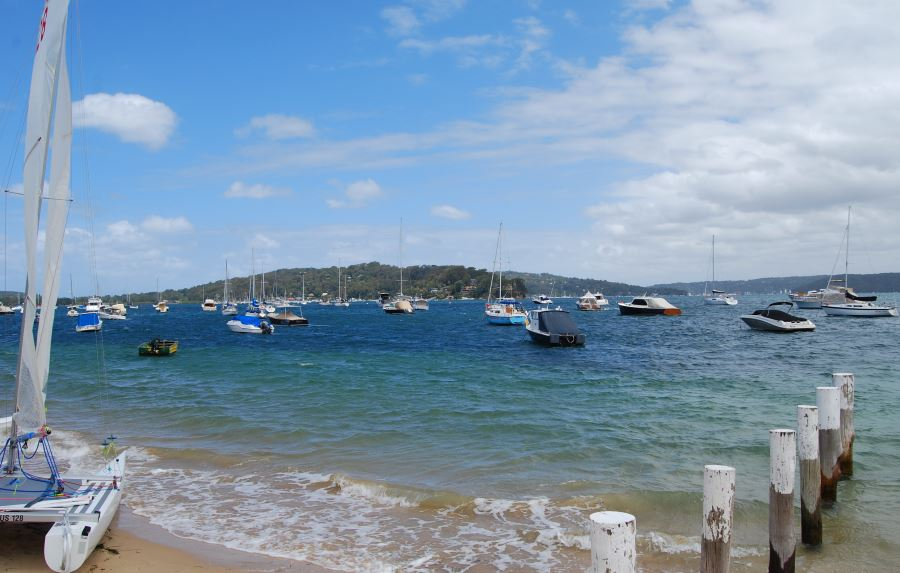 The Pittwater, Sydney Australia.