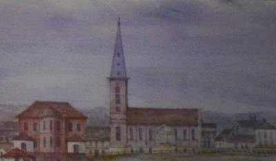Early Watercolour of St. James Church