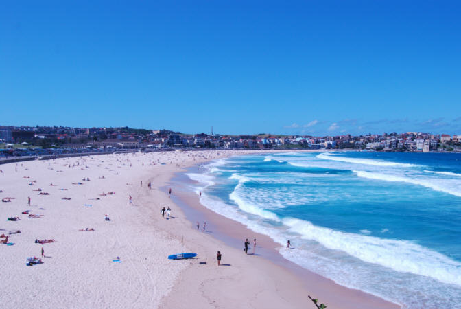Bondi Beach - Pictures and Images of Sydney and Australia