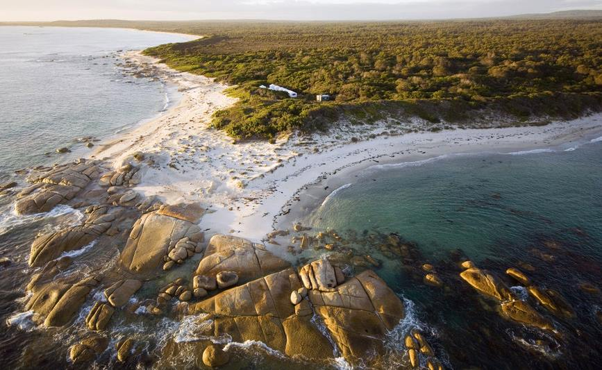 Tasmania Freycinet National Park. Saffire Freycinet, Luxury Lodges of Australia, Tasmania, Credit: Saffire Freycinet