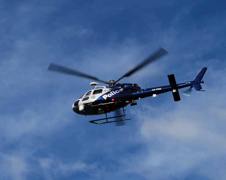 WYD Photos - Police Helicopter