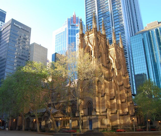Interesting Architecture: Church of England Cathedral in Sydney.