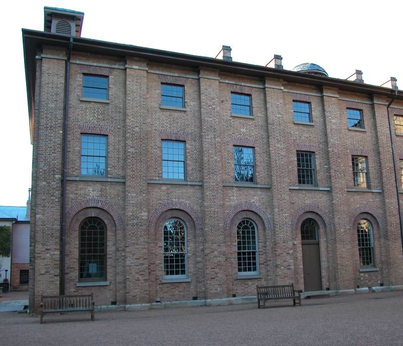 Hyde Park Barracks, where many Convicts were Housed