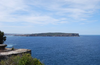 View of the Sydney Harbour Ocean Entrance from South Head Looking North