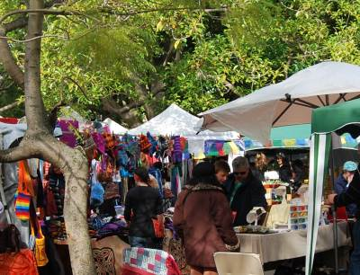 Saturday Glebe Market.